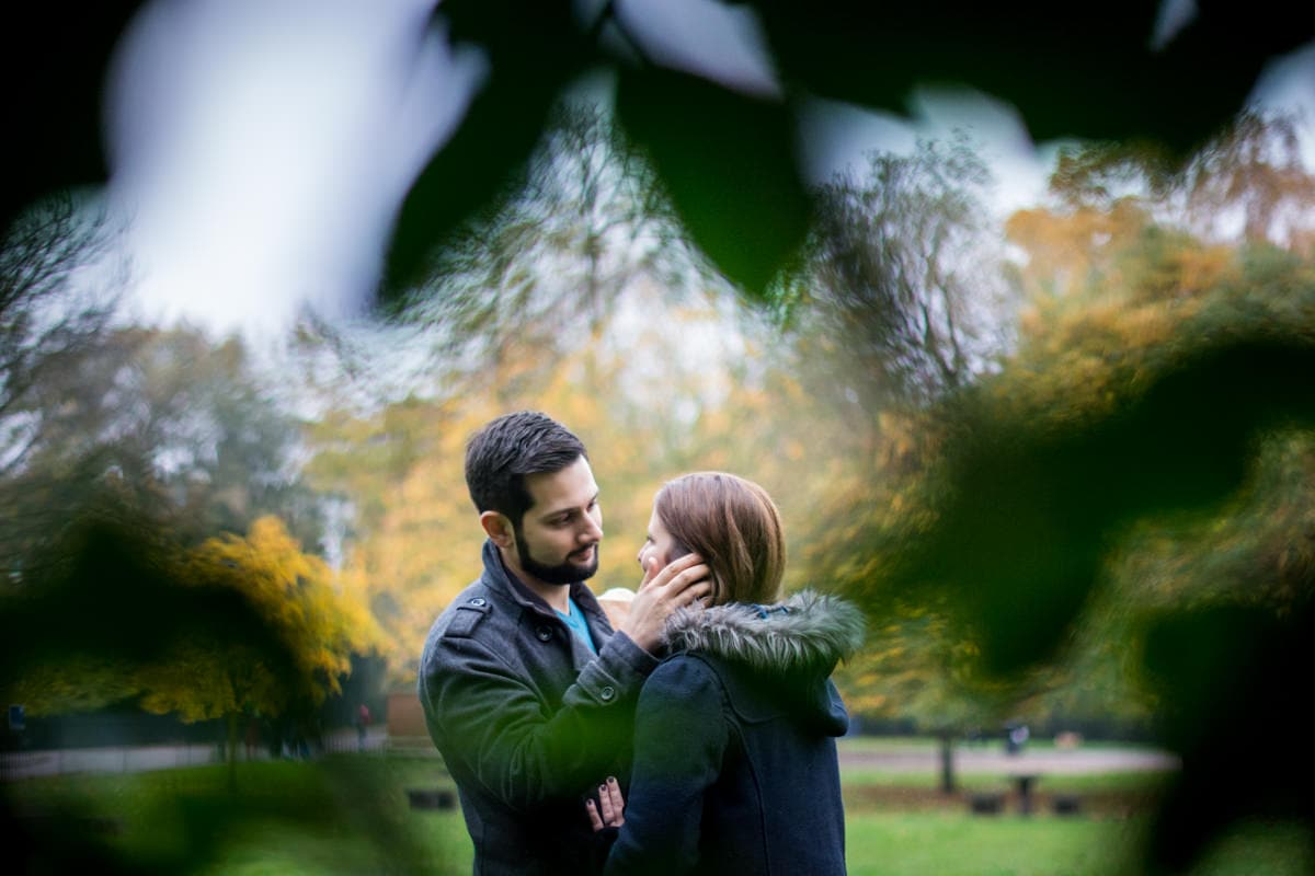 Columbia Flower Market, Victoria Park, Autumn Engagement Photography