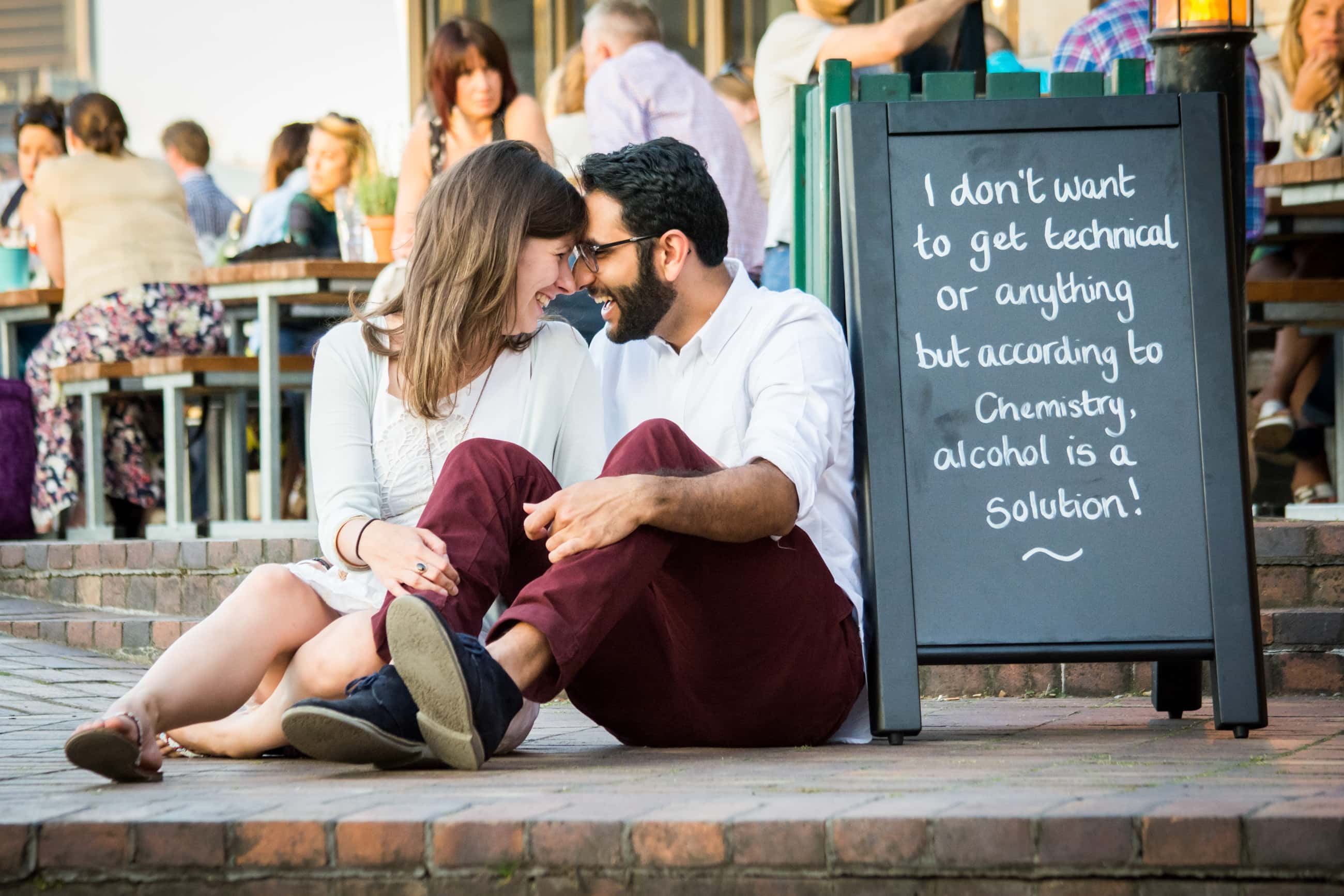 southbank london engagement photography
