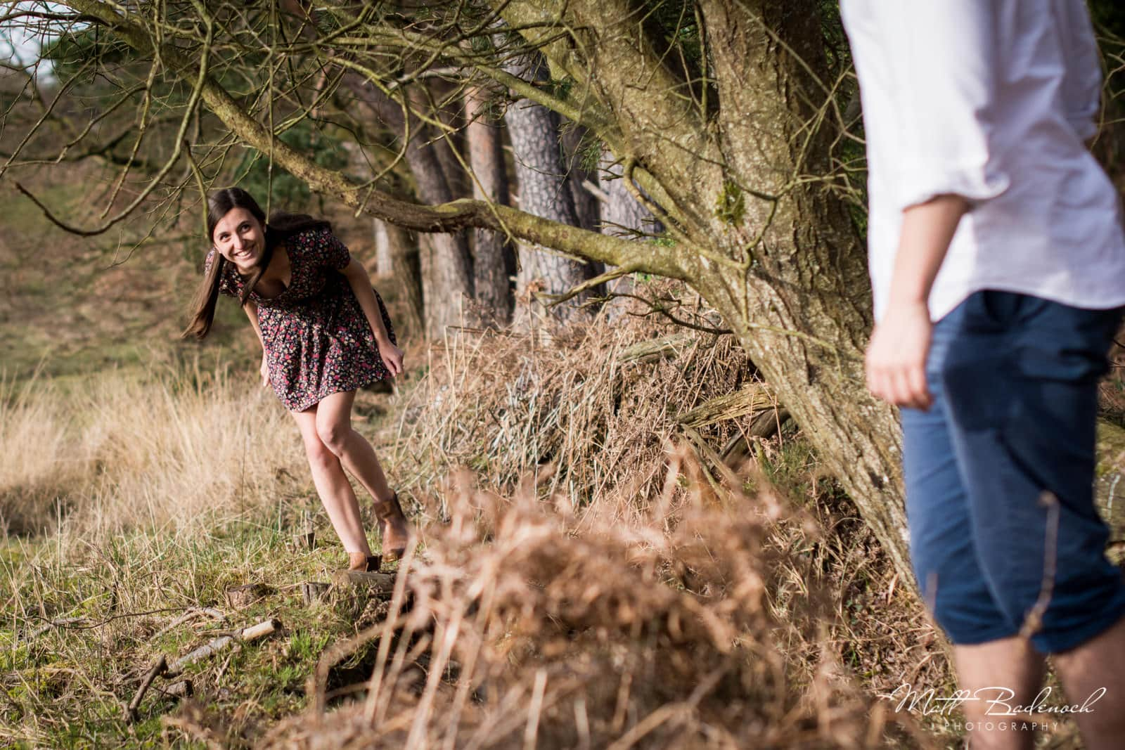 New Forest Engagement Photography