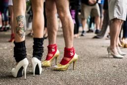 Hope In Heels Slideshow, london event photography, battersea park,