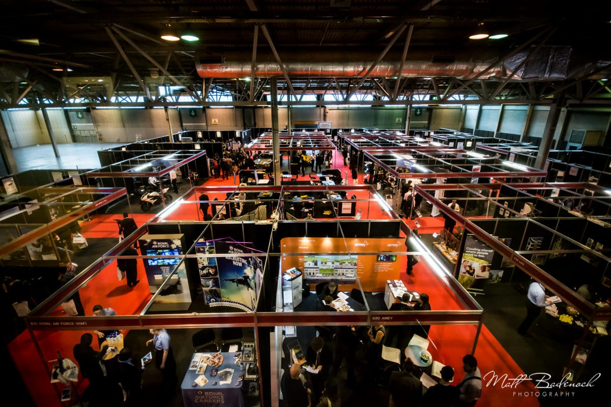 Recruitment Fair NEC Birmingham Event Photography