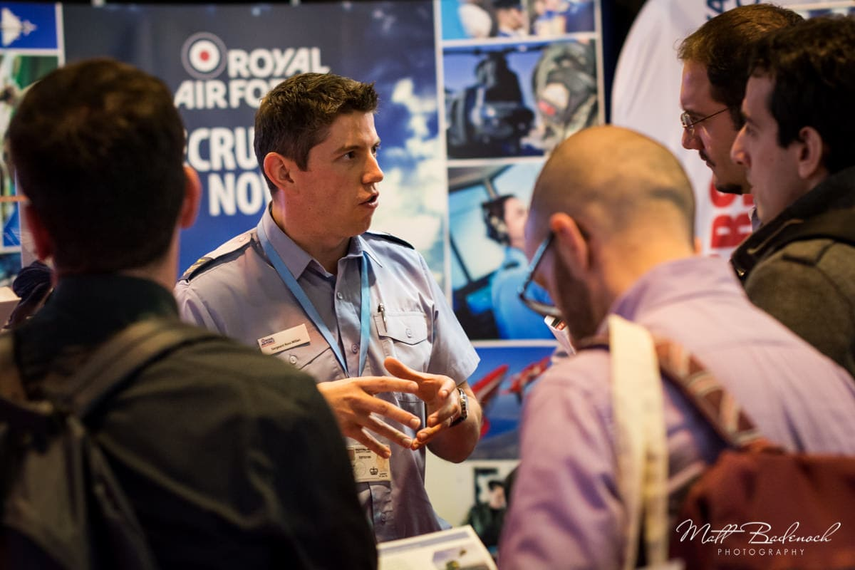 Recruitment Fair NEC Event Photography