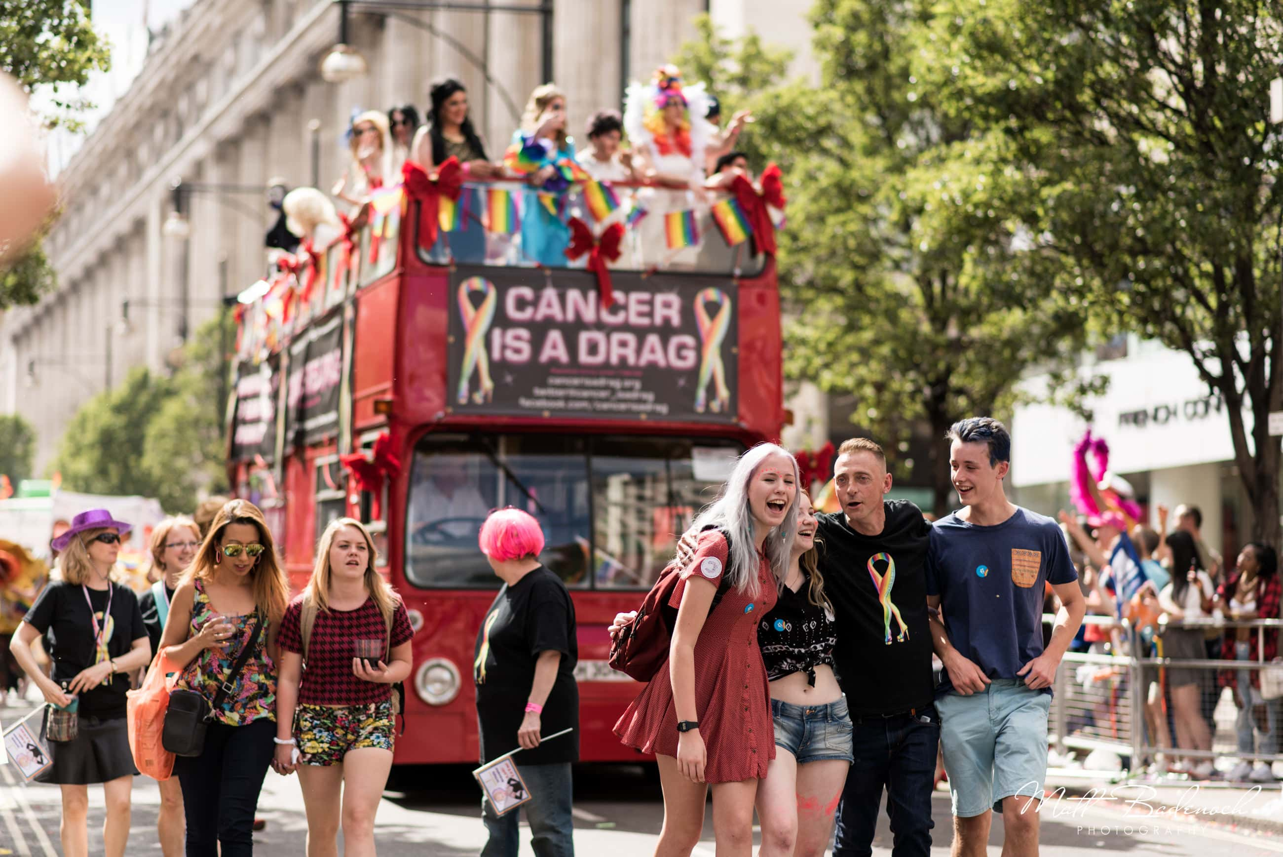 Cancer is a drag, London Pride Parade 2015 Photos
