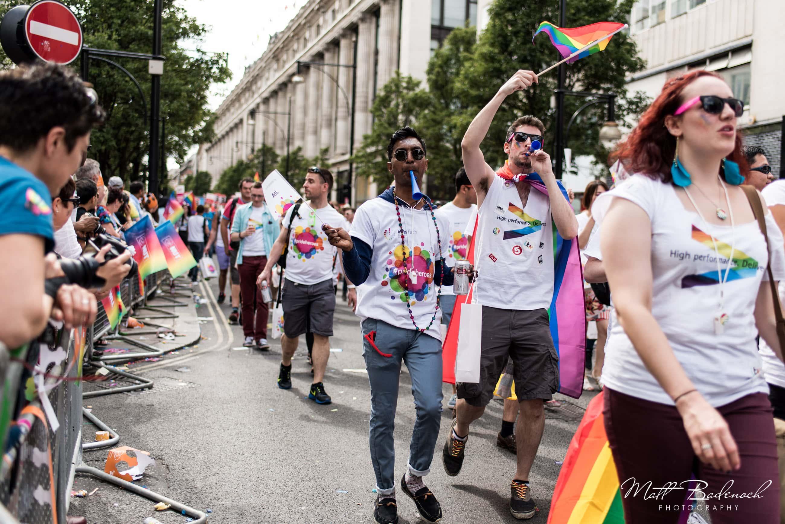 Accenture, London Pride Parade 2015 Photos