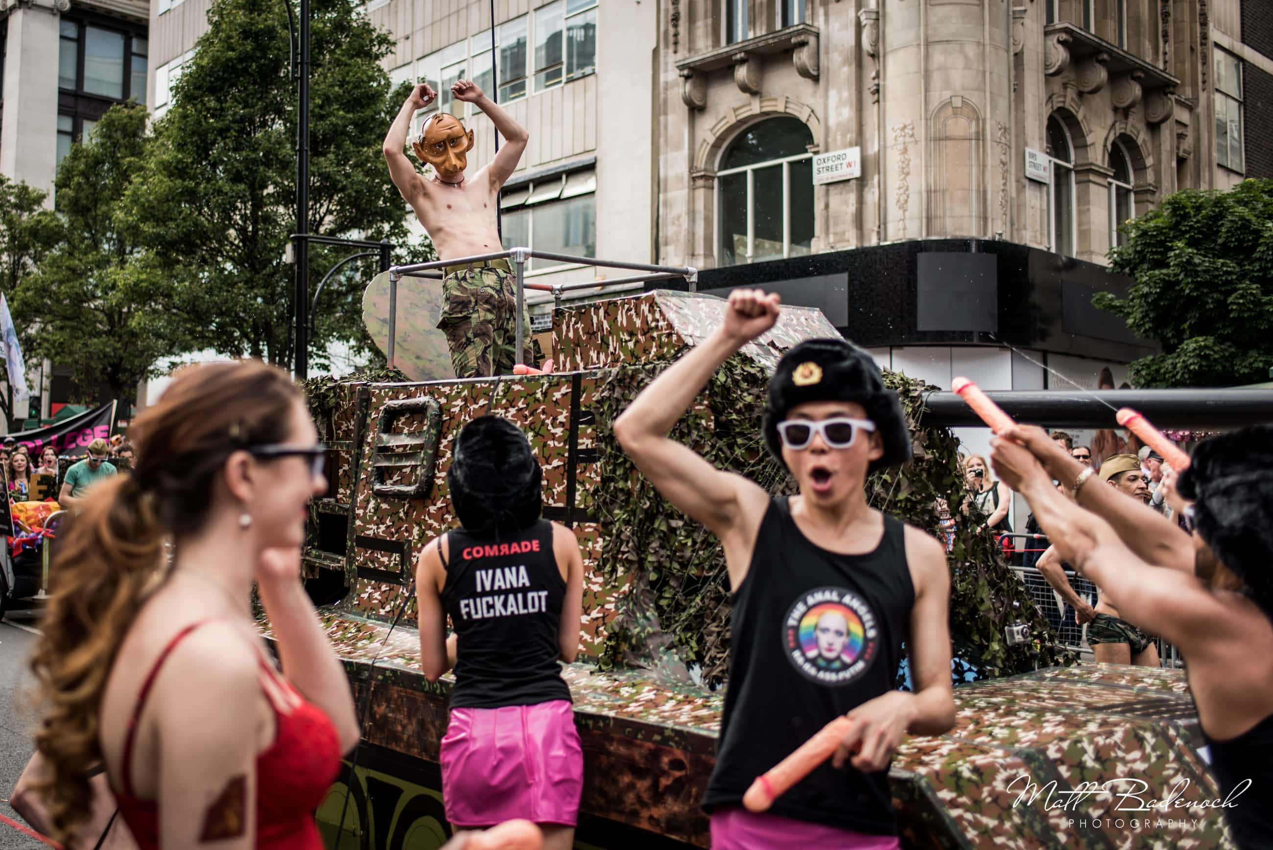 The Anal Angels, Russian President Putin, London Pride Parade 2015 Photos