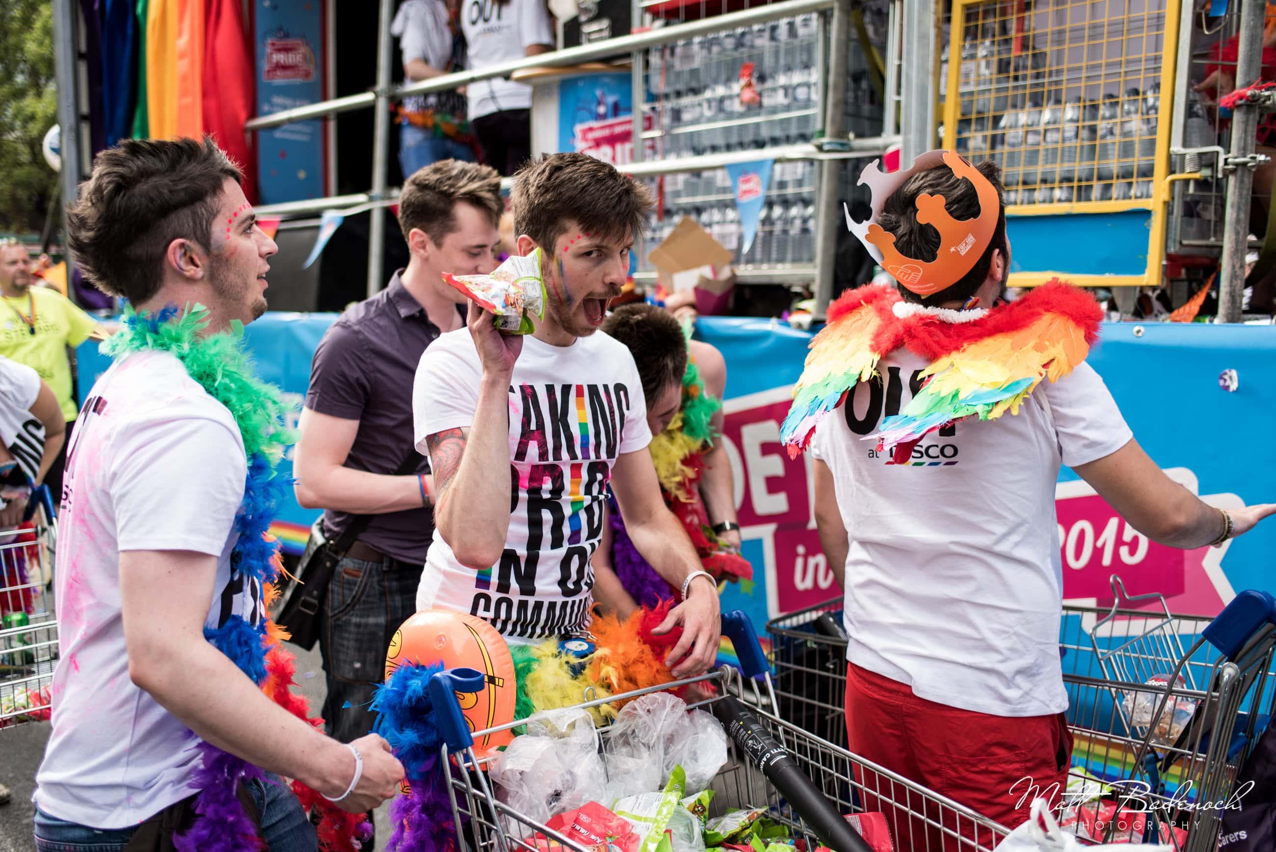 Tesco, London Pride Parade 2015 Photos