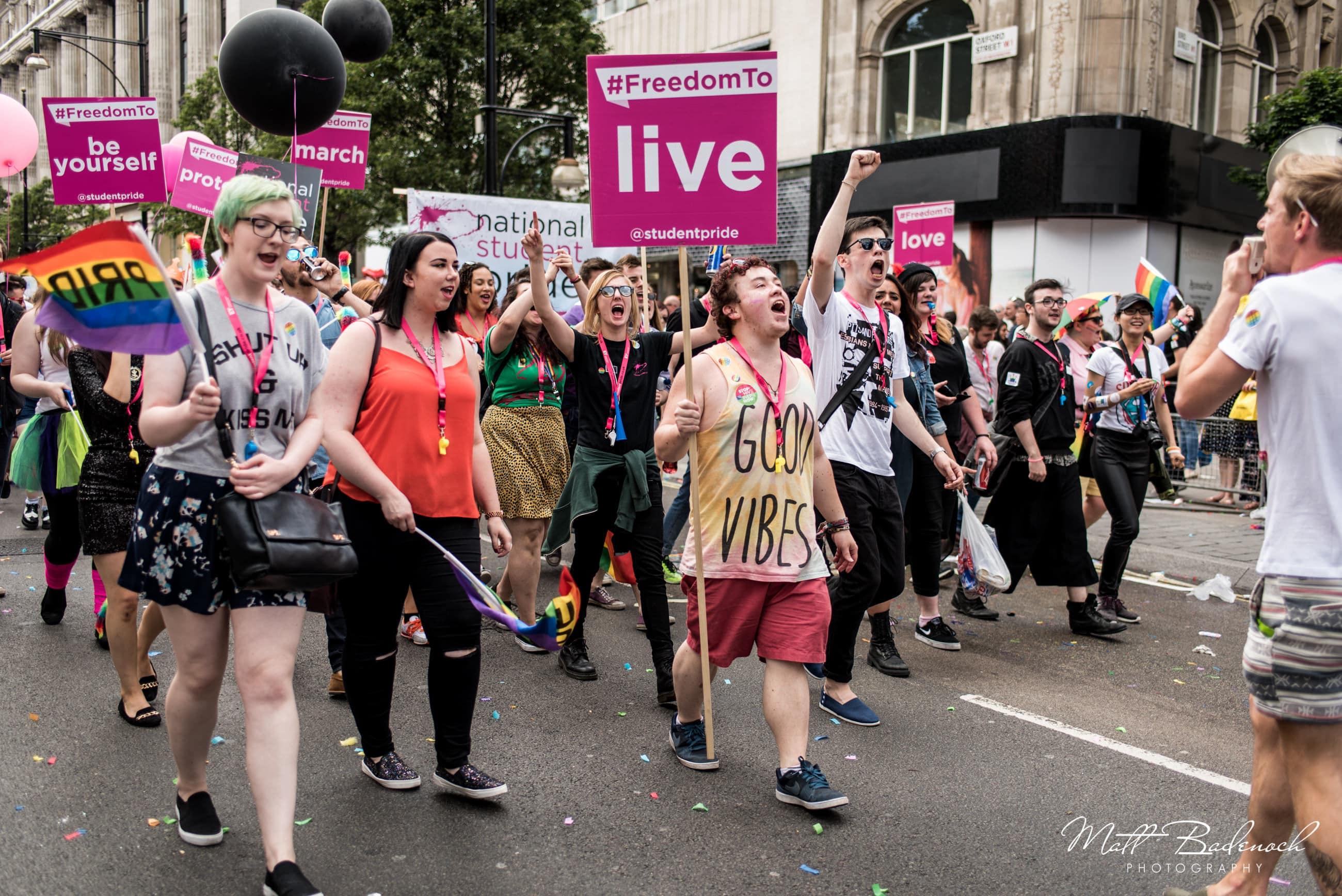 Student Pride, London Pride Parade 2015 Photos