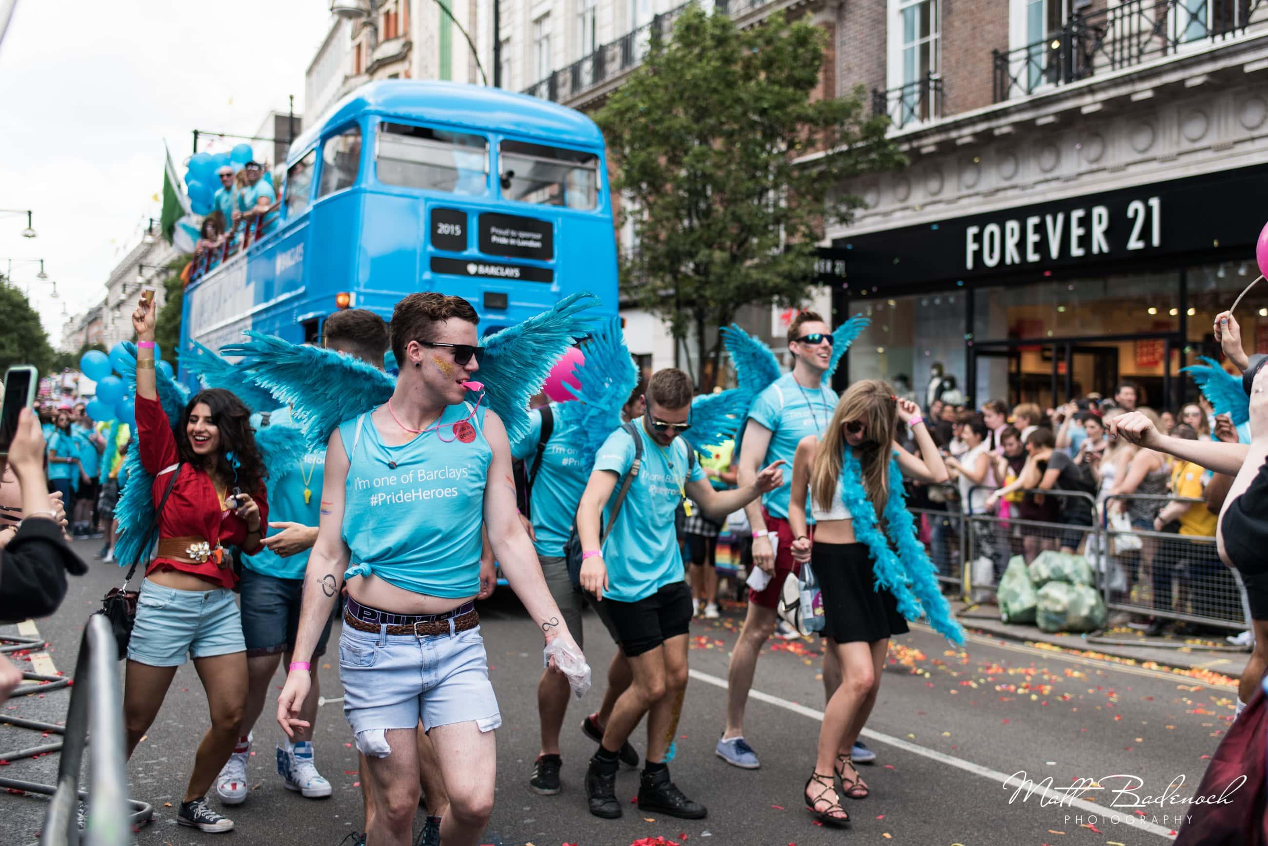 gay pride march london