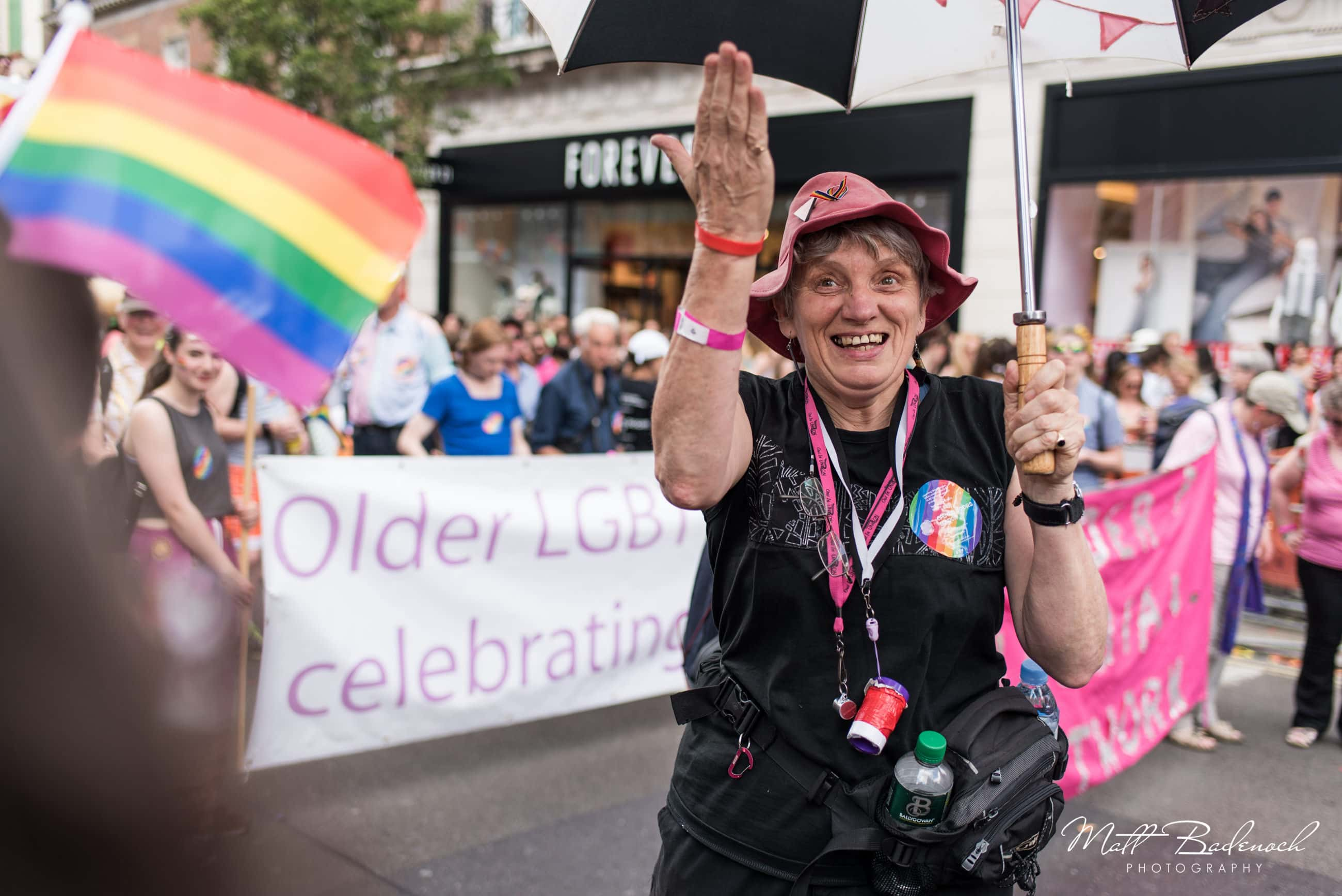 Older LGBT, London Pride Parade 2015 photos