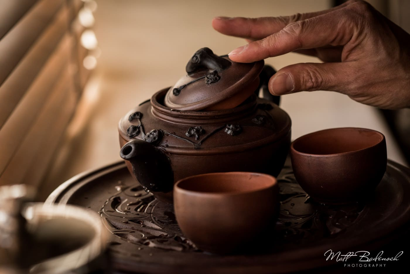Chinese tea ceremony at Leeds Castle