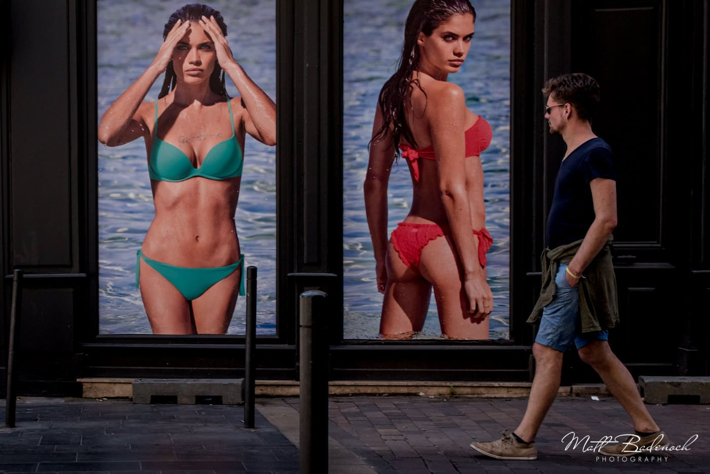 female model posters | bordeaux street photography