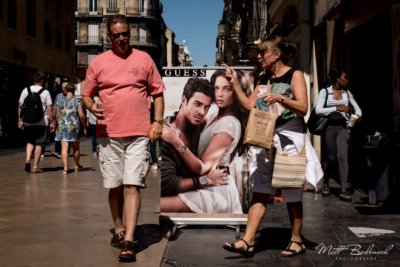 shopping on rue Sainte-Catherine | bordeaux street photography