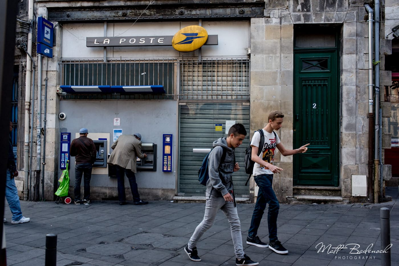 la poste | bordeaux street photography