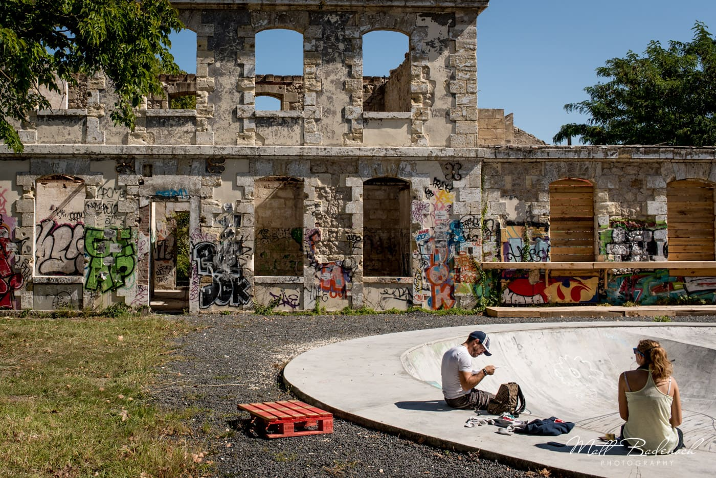graffit, skate bowl, hangar darwin | bordeaux street photography