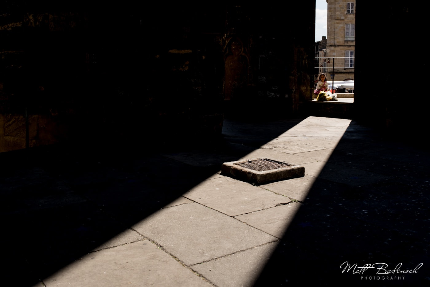 shard of light in Sainte-Michel, | bordeaux street photography