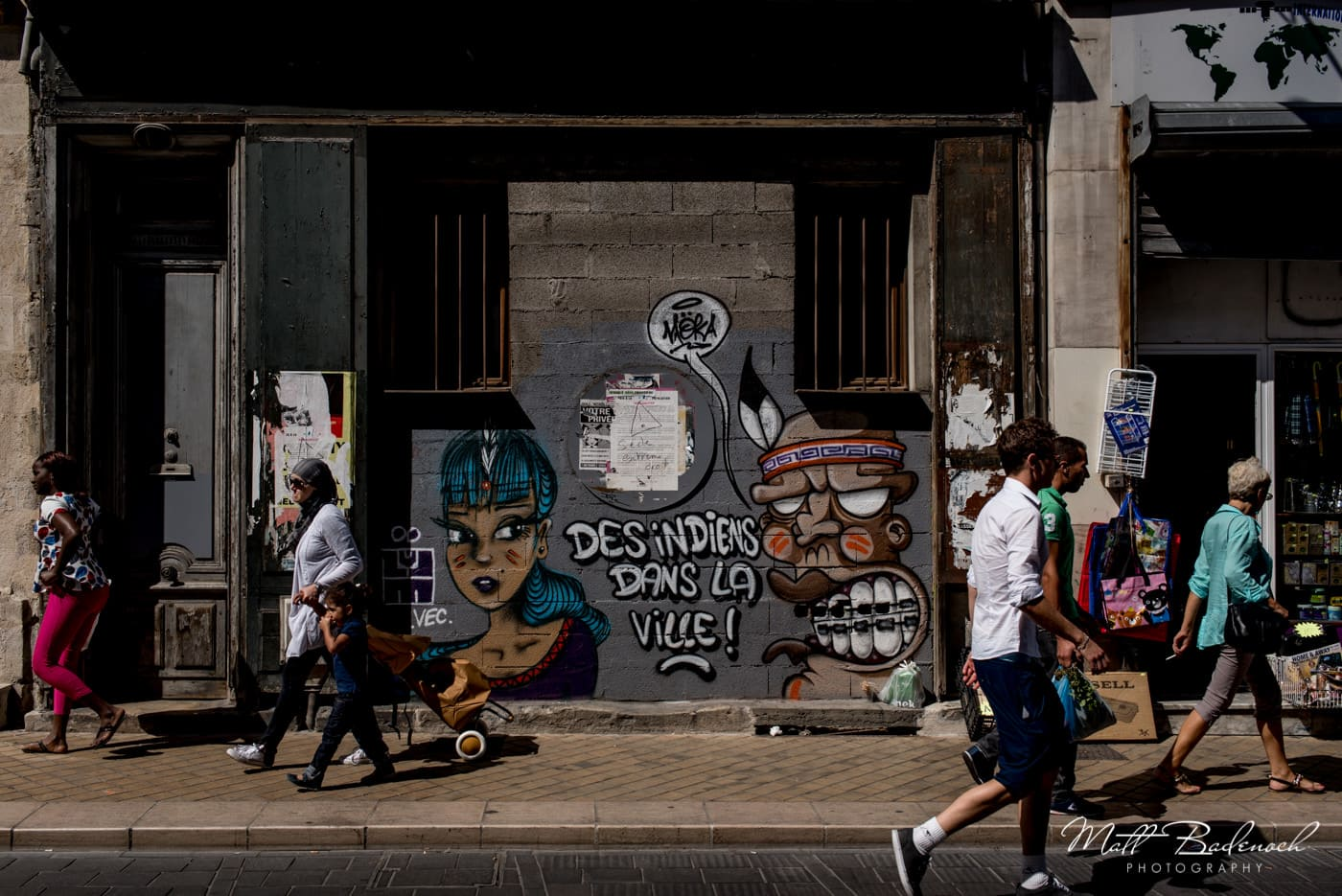 graffiti in the street, | bordeaux street photography