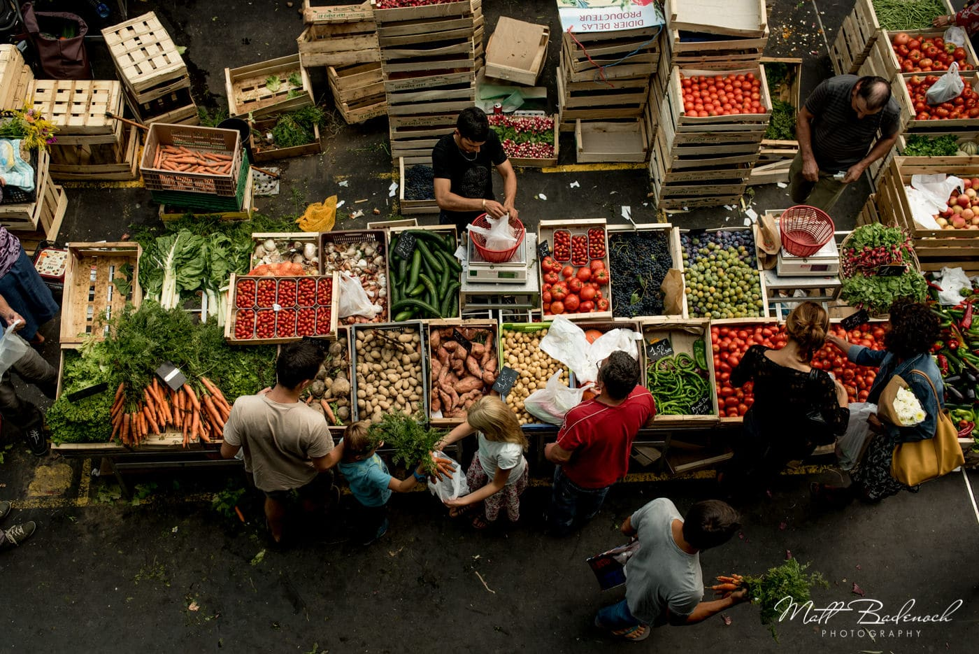 food vegetable market | bordeaux street photography