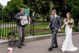 fun london wedding photography in stoke newington