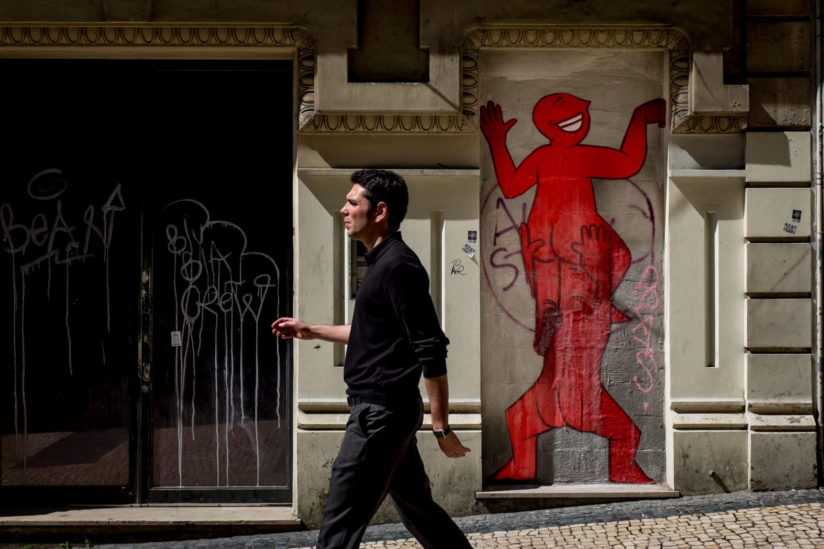 porto street photography graffiti
