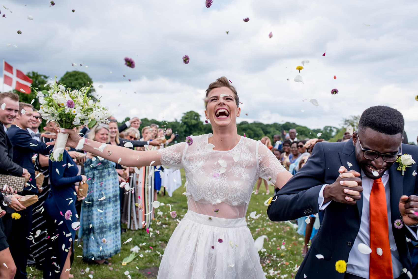 wedding planning tips with some confetti action