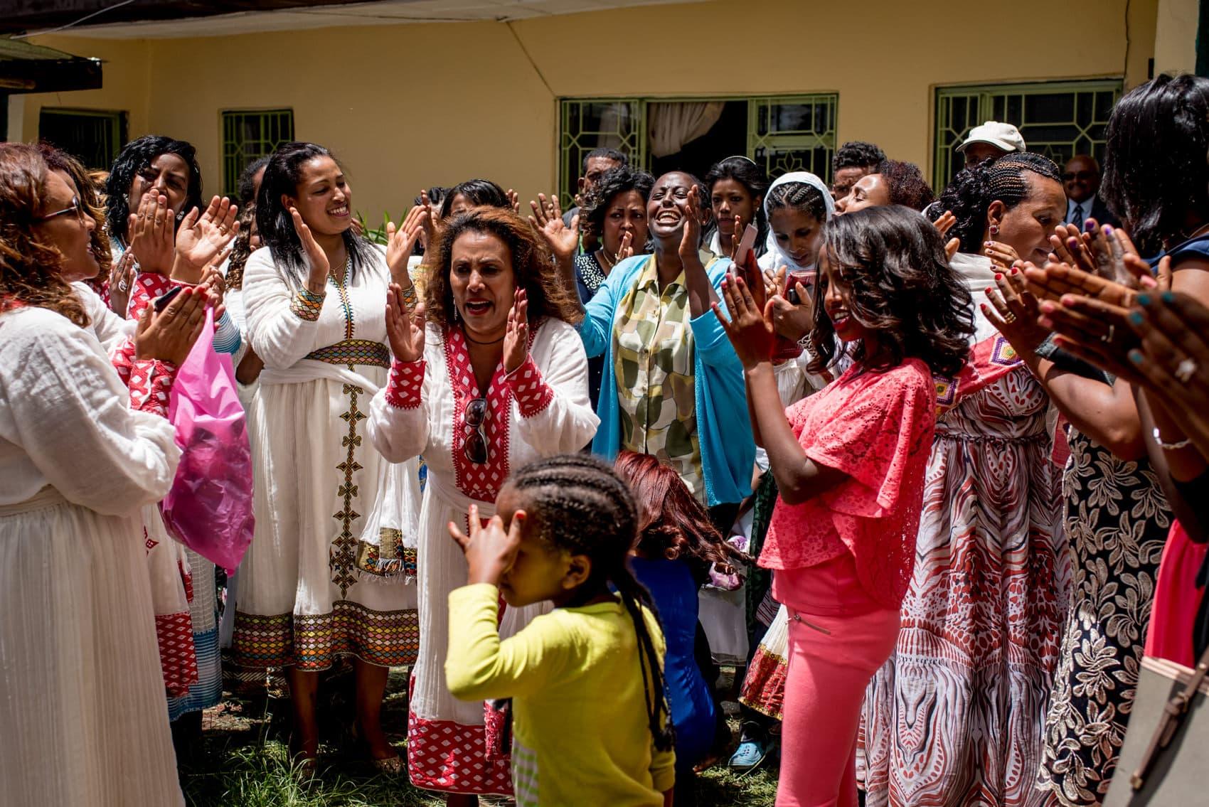 traditional Ethiopian wedding celebrations