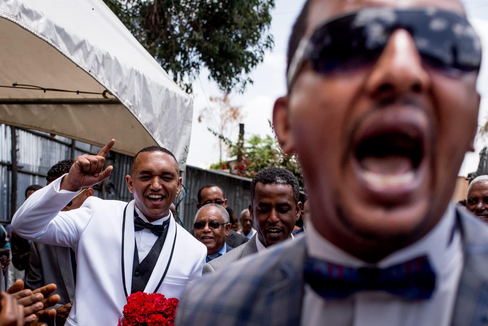 groom wedding celebrations in Ethiopia