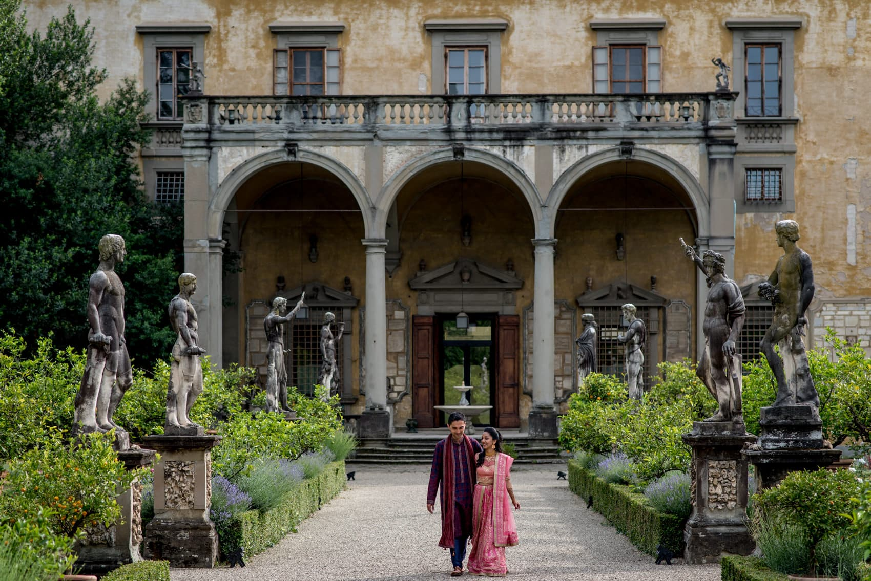 Florence wedding at Giardino Corsini al Prato