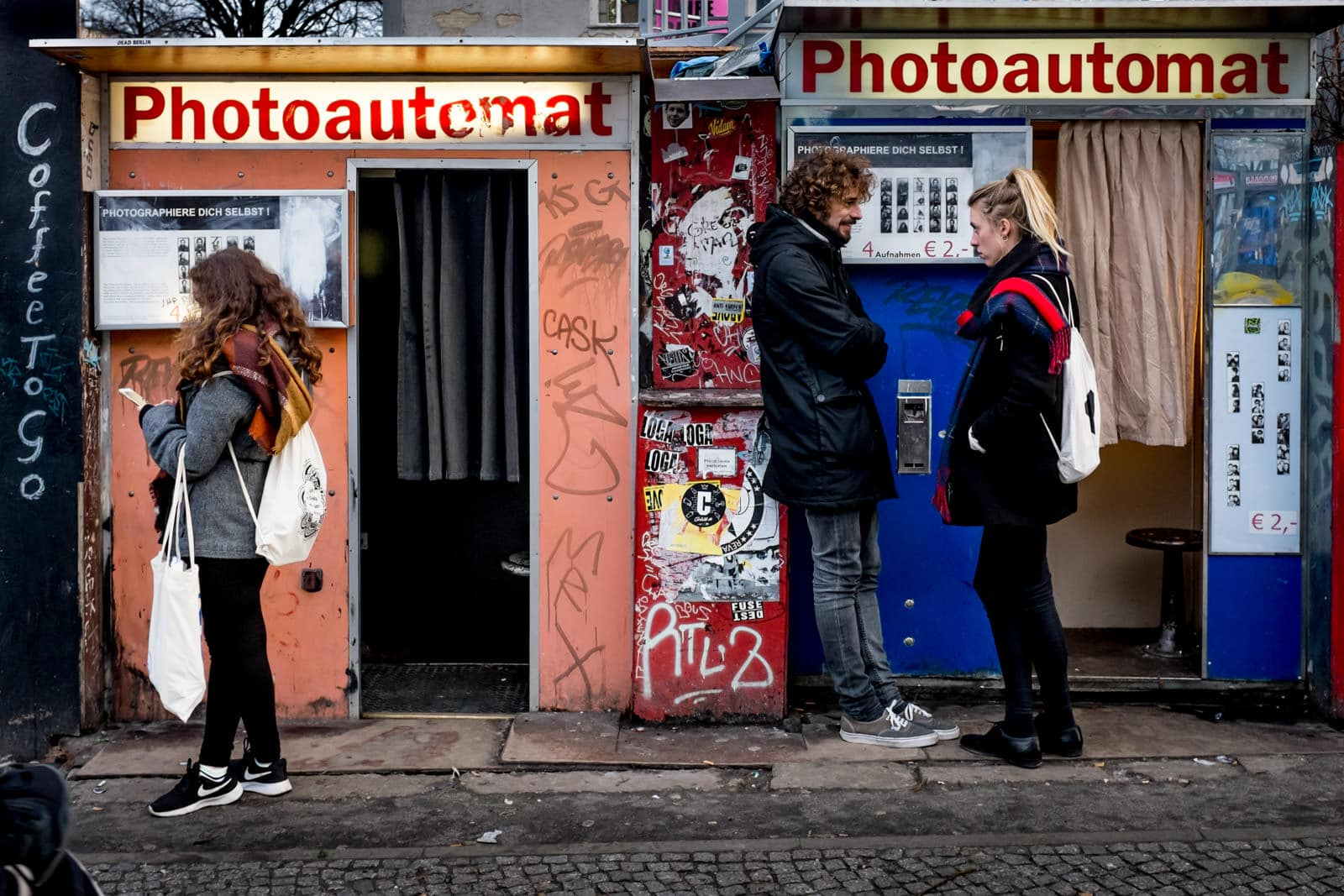 photoautomat camera booths in Berlin, Germany