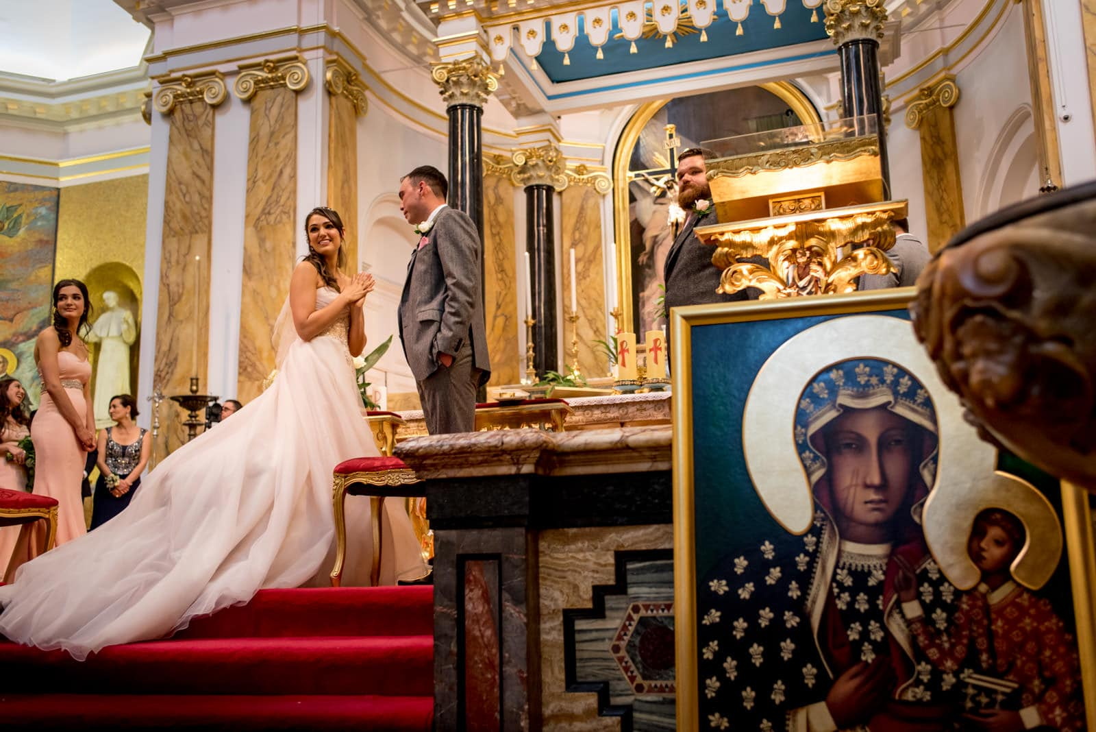 Landmark london wedding