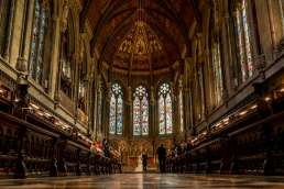 St John's Chapel wedding photos in Cambridge