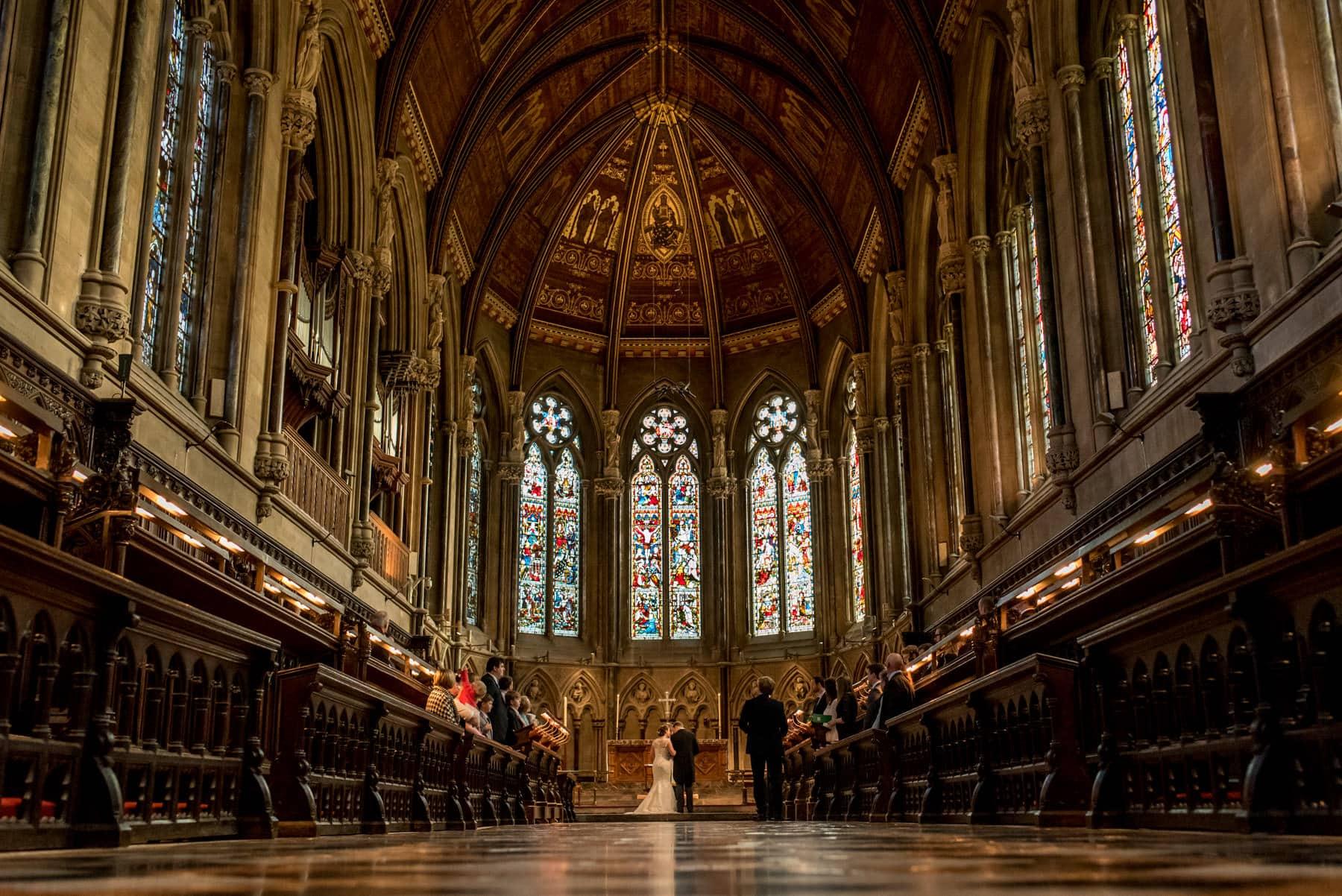 St John's Chapel wedding photos in Cambridge