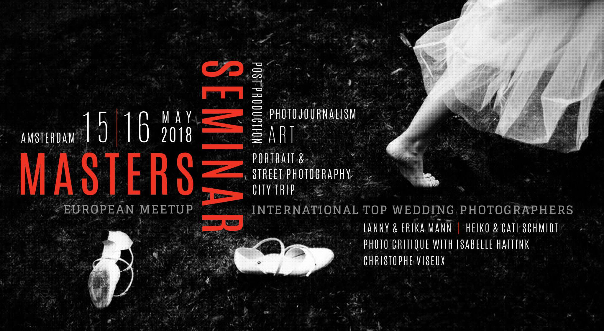 poster for the wedding conference Masters Seminar