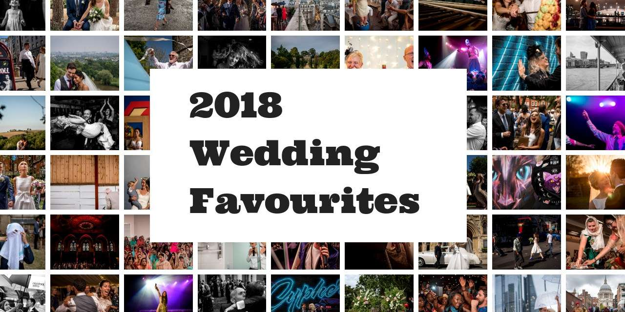 collage of photos for the best wedding photography of 2018