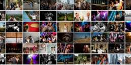 A collage of my favourite wedding photos from 2018
