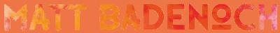 Matt Badenoch Photography's Logo